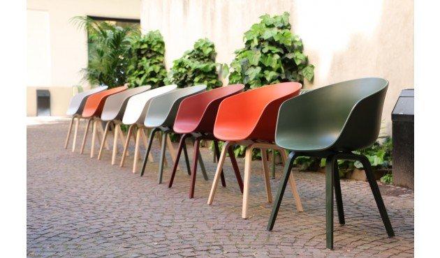 HAY About a Chair AAC22 - Betongrau (und andere Farben) 4 Stück- Design Friday 3+1 579,09€ für 4 Stk. / 144,77€ Stuhl ca. -33%