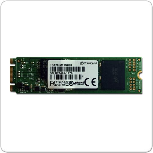 Transcend 128GB SSD - M.2 - SATA 6Gb/s -TS128GMTS800 mit PayDirekt und Gutscheincode / Rakuten