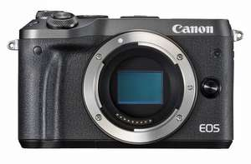 Canon Eos M6 Body + 70€ Cashback möglich