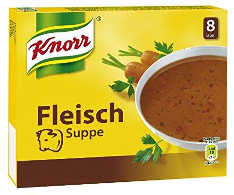 Knorr Fleisch Suppe Würfel, 10er-Pack (10 x 8 Liter) spar abo