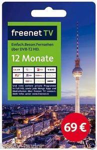 [eBay Plus] freenetTV & HD+ für 48€