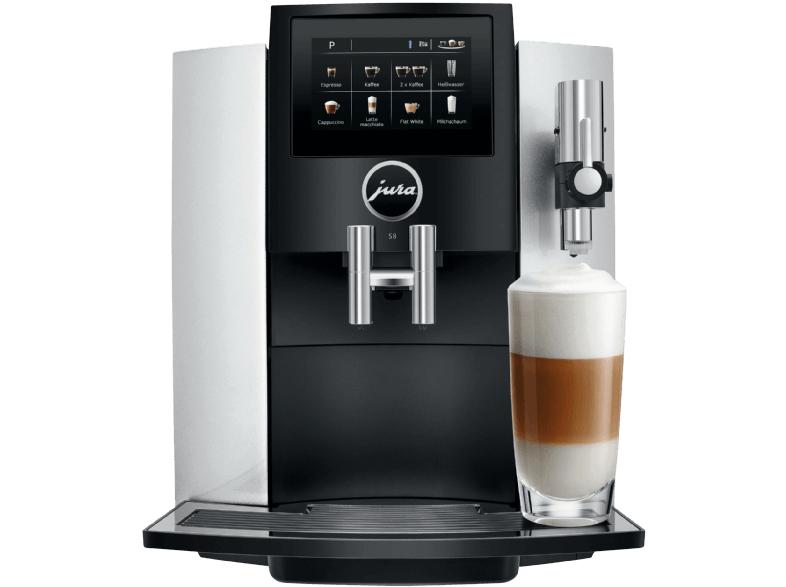 Jura S8 One Touch (moonlight silver) - Kaffeevollautomat