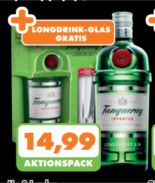 Trink&Spare Tanqueray für 14,99€ + Glas lokal Ruhrgebiet/Niederrhein