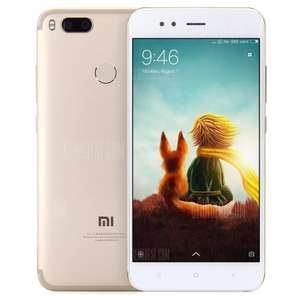 XIAOMI Mi A1  Global Version Gold 4GB RAM 64GB ROM Dual -UK Plug [Gearbest]