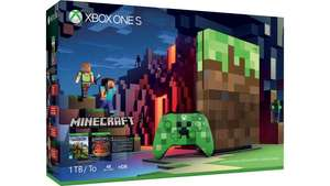 Xbox One S (1 TB) - Minecraft Limited Edition [Microsoft/Amazon]