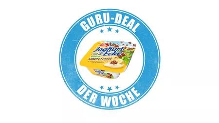 Jogurt mit der Ecke gratis über Markt-Guru (0,30 € Cashback) z.B. bei Kaufland für 0,29 €