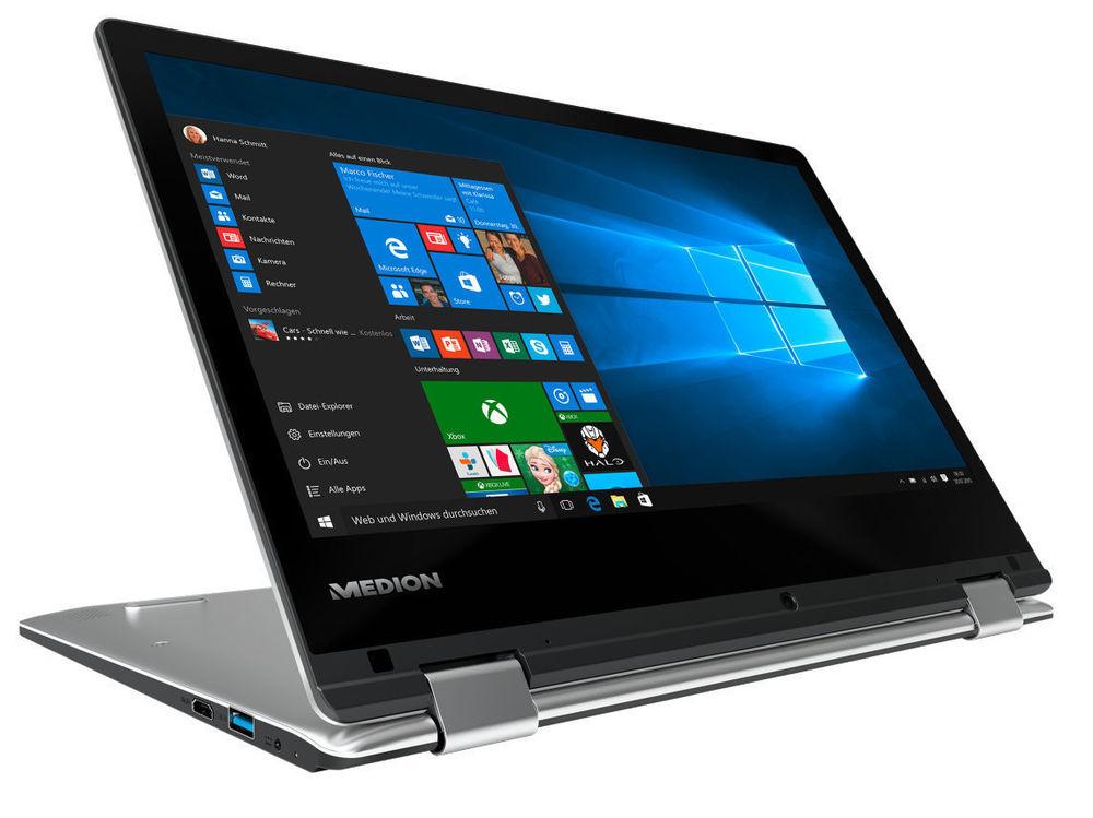 "[Medion@ebay] MEDION AKOYA E2228T Touch Notebook 29,5cm/11,6"" Intel Atom x5-Z8300 4GB 64GB IPS Full HD B-Ware"