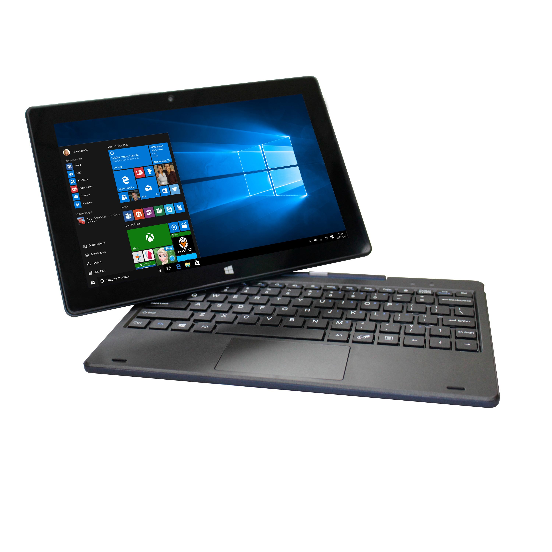 """Verico Windows Tablet 10.1 2in1, 10,1"""" HD IPS Display, Intel Quad-Core, 2GB RAM, 128GB Flash, mini-HDMI, Windows 10"""