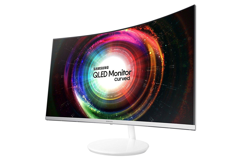Samsung C32H711Q - 80 cm (32 Zoll) LED Curved VA Monitor, WQHD 2560x1440, Farbraum: 125% (sRGB), AMD FreeSync  48-75Hz