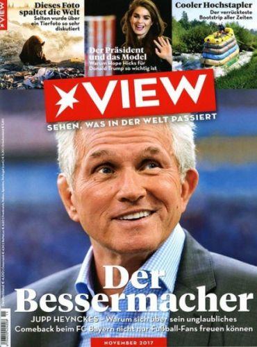 [Gruner+Jahr] View Magazin für 1 Jahr (12 Ausgaben) für 48€ mit 40€ Amazon-/BestChoice oder Tankgutschein