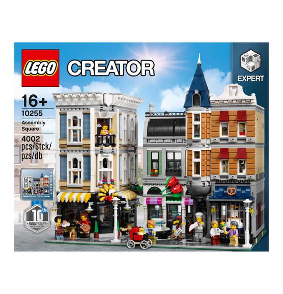 Lego Stadtleben 10255 am 3. Dezember