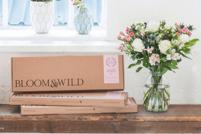 Wieder da: 30% Rabatt auf Blumenbestellung bei Bloom & Wild zum Cyber Monday