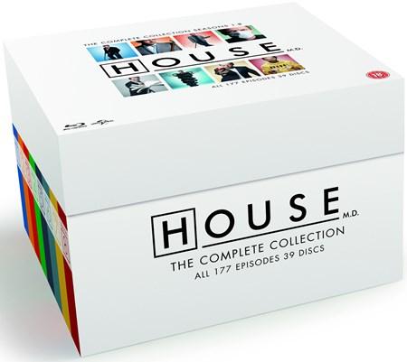 Dr. House - Die Komplette Serie (Blu-ray) für 41€ (Zoom)