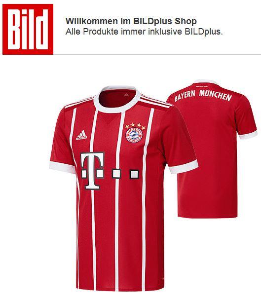 Bild+ für 24 Monate + FC Bayern Kimmich Trikot für 4,99 € im Monat