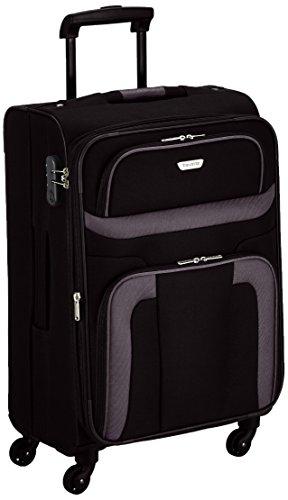 [Amazon] Travelite Orlando 4 W Trolley M, 98548-01 Koffer, 65 cm, 63 Liter, Schwarz