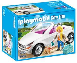 Playmobil 5585 City Life Luxury Mansion Convertible Car Amazon UK