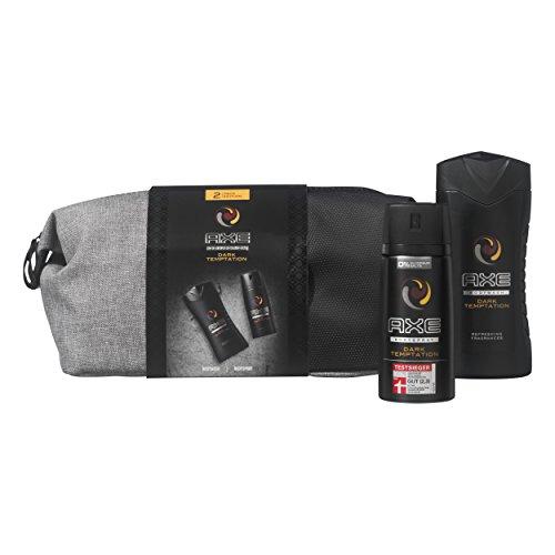 [Prime] Axe Geschenkset Dark Temptation Bodyspray & Duschgel mit Washbag für 7,95 €