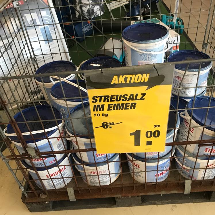 [Lokal] 10kg Streusalz toom Hamm Herringen