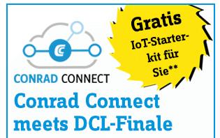 Conrad Connect: IoT Starterkit kostenlos.