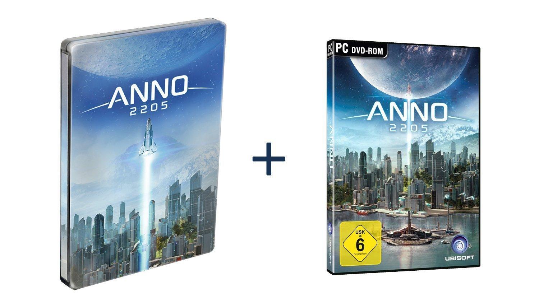 Anno 2205 - Standard inkl. Steelbook für 8,41€ (Amazon Prime)