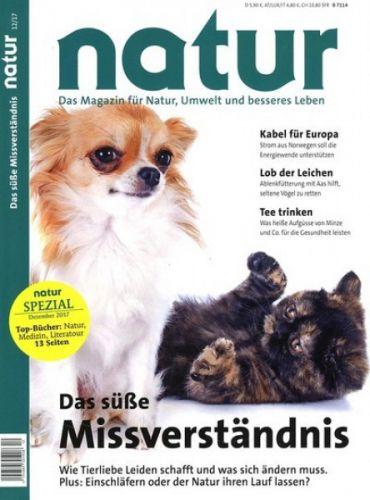[Hobby + Freizeit ] NATUR Magazin 1 Jahr (12 Ausgaben) für 66,40€ mit 65€ BestChoice-Gutschein