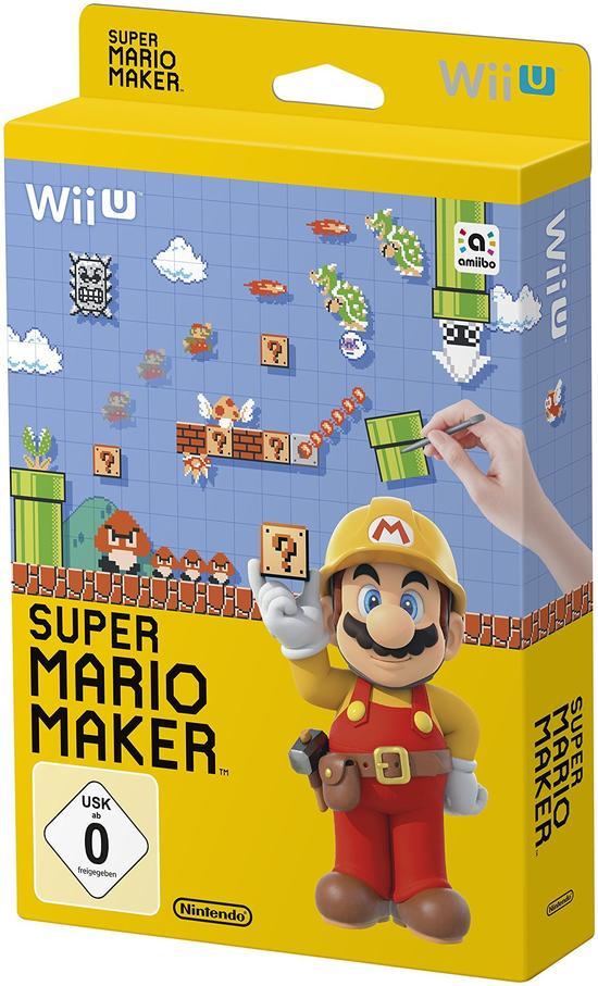 Wii U Mario Maker Artbook Edition (GameStop lokal & online)