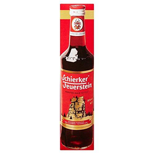 Schierker Feuerstein Kräuter-Halb-Bitter, Kräuterlikör (1 x 0.7 l) - AMAZON - PRIME