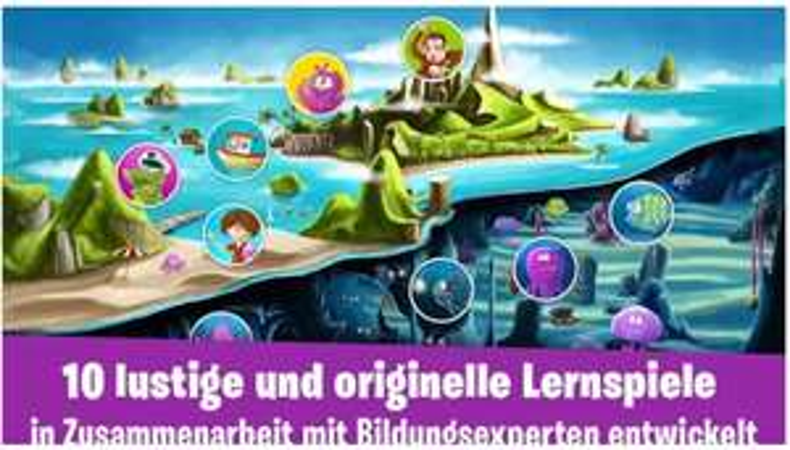 [Google Play] Die Abenteuer von James - Kinderlernspiel (Android) kostenlos - statt 2,99€