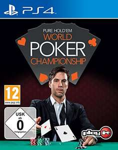 Seat Open! World Poker Championship Pure Hold 'em (PS4) für 9,97€ [prime]
