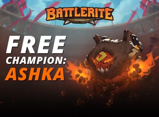 [Steam+F2P] Battlerite Free Champion Ashka