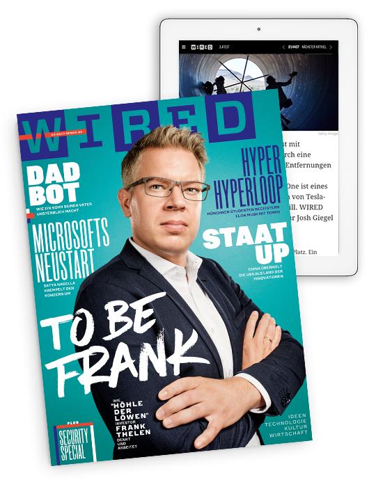 WIRED Magazin Jahresabo (4 Ausgaben) + Zugang zum Online-Archiv für 27€ mit 25€ Amazon-Gutschein