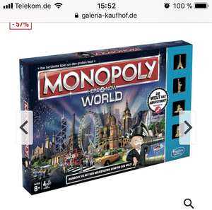 Hasbro Monopoly Here & Now World Edition