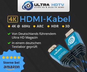 """15% Rabatt auf Kabel von """"Ultra HDTV"""""""