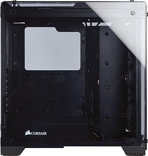 Corsair CC-9011098-WW Crystal Series 570X RGB Kompakt Mid-Tower ATX Gehäuse mit gehärtetem Glas und RGB-Lüftern schwarz