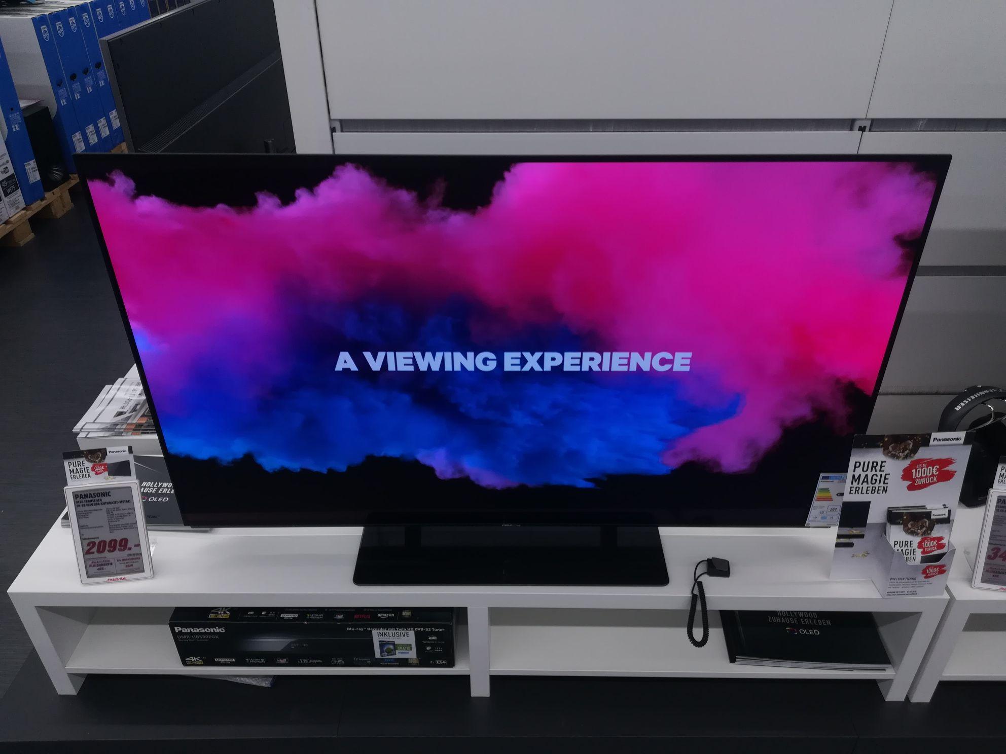 Panasonic OLED TV  55 ezw 954