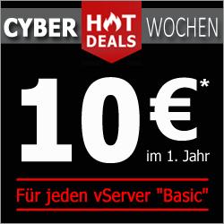 EUServ - VPS mit 1x 1GHz 4G RAM, 200G HDD und 100Mbit/s Netzwerk, oVZ für 10€ (12m) im 1. Jahr