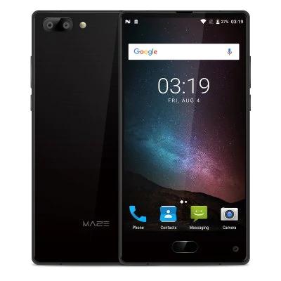 "[Gearbest] EU Lager MAZE Alpha Black UK Stecker 4GB RAM Version, 6 Zoll ""randlos"", 64GB Speicher, Android 7, 4000mAh Akku, Helio P25 Prozessor, Band 20"