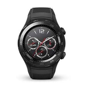 HUAWEI WATCH 2 Smartwatch mit schwarzem Sportarmband (NFC, Bluetooth, WLAN, Android Wear™ 2.0) schwarz für 203,48€ [amazon.co.uk]