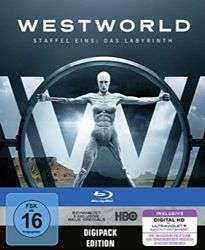 Westworld: Staffel 1 (Blu-Ray) / Amazon Prime