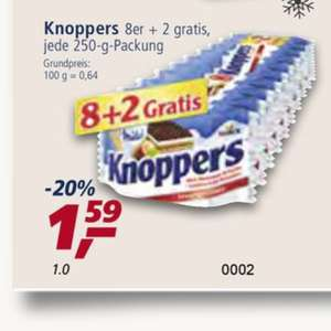 "Real Bundesweit Knoppers ""8+2"" 1,59€"
