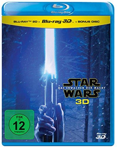 Star Wars - Das Erwachen der Macht (Blu-ray 3D + 2D-Blu-ray + Bonus-Blu-ray)