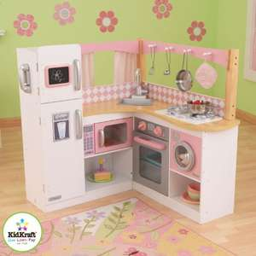 [Amazon oder Kaufhof] KidKraft - Eck-Spielküche Grand Gourmet aus Holz