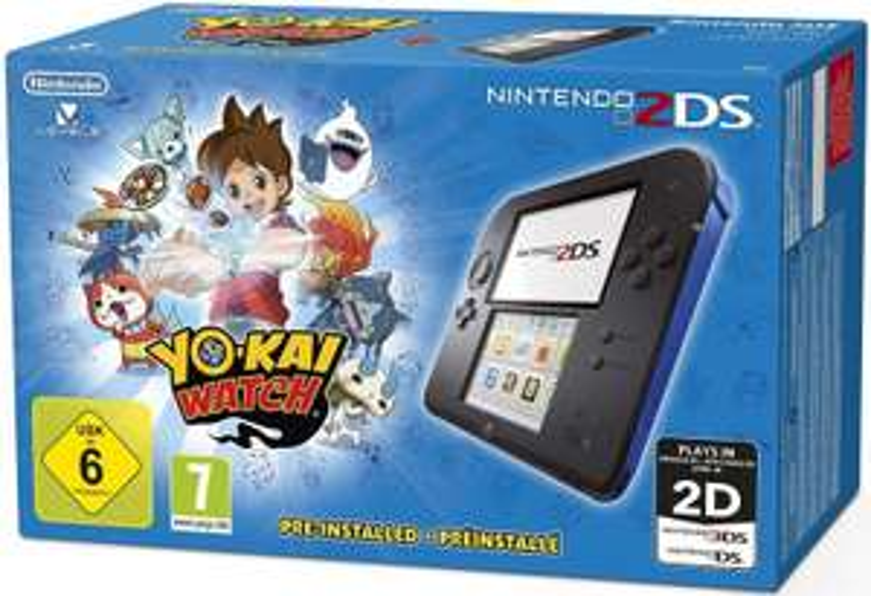 [Media Markt Bielefeld] Nintendo 2DS schwarz/blau mit Yo-Kai Watch für 50€