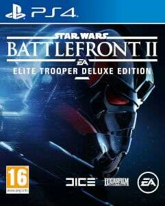 PS 4: STAR WARS BATTLEFRONT II: ELITE TROOPER DELUXE EDITION