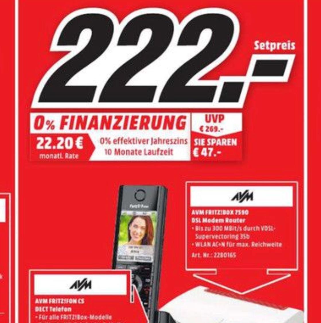 Lokal Magdeburg: Fritzbox 7590 + Fritz Fon C5