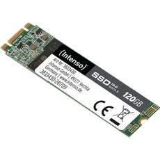 Intenso High Performance 120 GB Solid State Drive, Lesen: 520 MB/s, Schreiben: 500 MB/s  (SATA 6Gb/s | SSD M.2-Bauform)