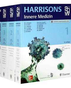 Harrisons Innere Medizin in 4 Bänden 19.Auflage 2016, Sonderausgabe, einf. Ausstattung - 8kg geballtes Wissen