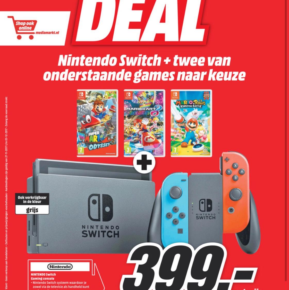 [Grenzgänger] Niederlande - Nintendo Switch Bundle