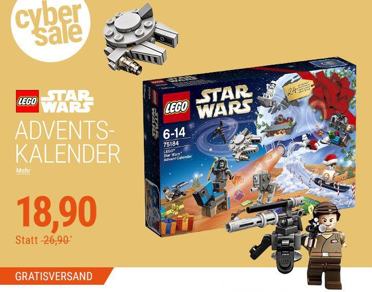 LEGO Star Wars™ Adventskalender (75184) + Gratisversand