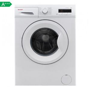 [eBay] Sharp ES-FB7143W3A Waschmaschine (7 kg, 1400 U/min, 15 Programme, Zeitschaltuhr, Aquastop, LED-Display, Wascheffizienz A, Schleudereffizienz B, EEK A+++)